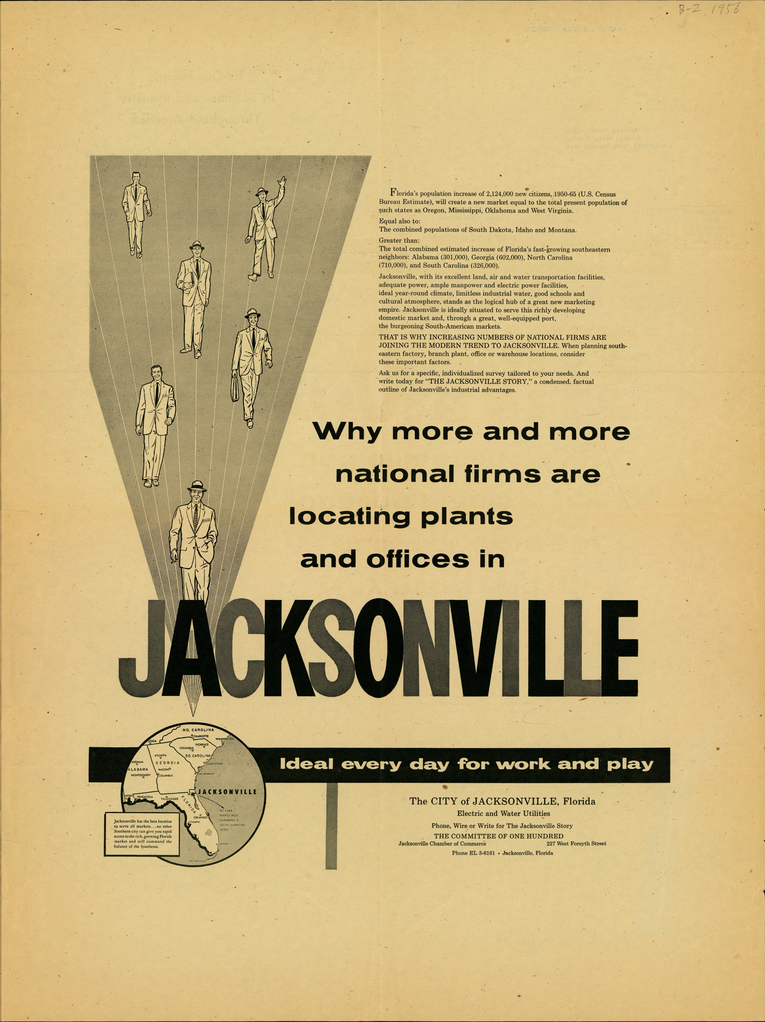 Why more and more national firms are locating plants and offices in Jacksonville