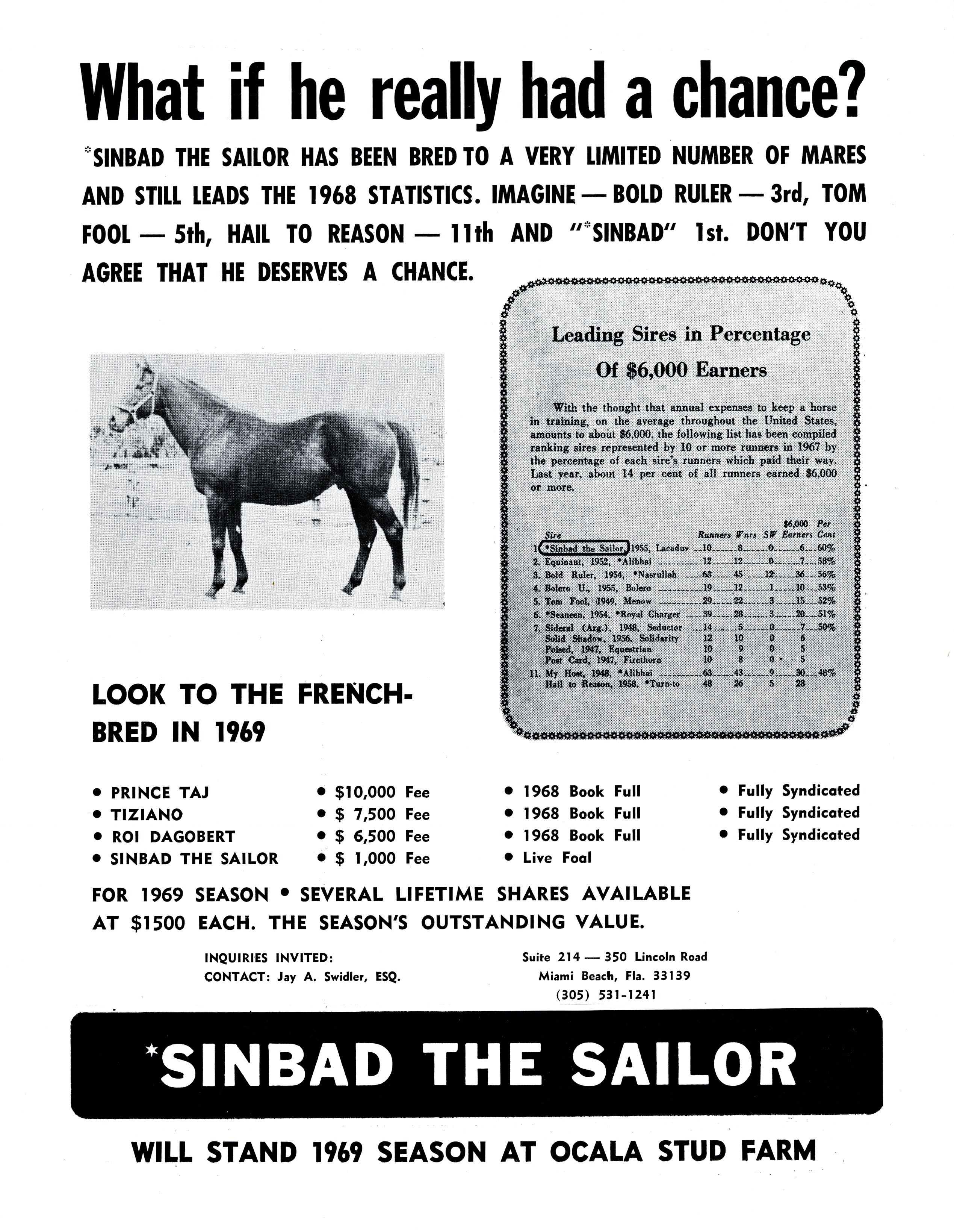 What if he really had a chance? Sinbad the Sailor.