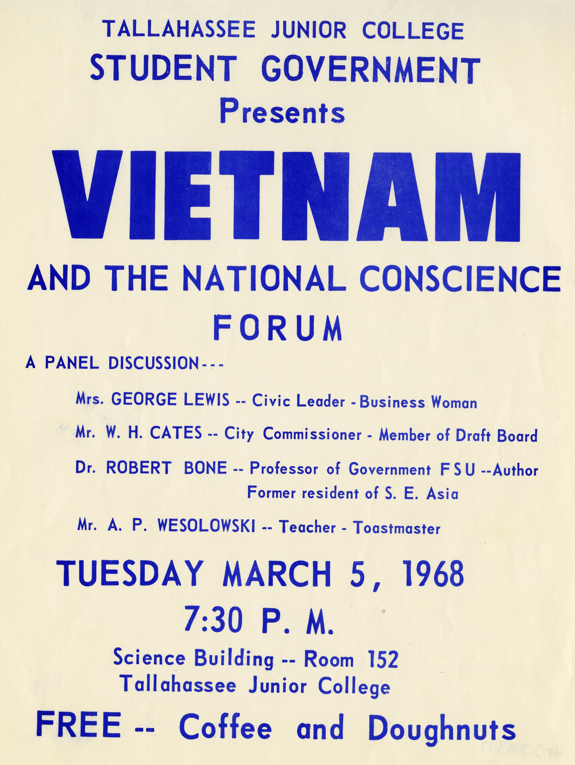 Vietnam and the national conscience forum.
